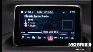 How To: Use Auxiliary Input and USB / Mazda Connect | Mazda3 | Morrie