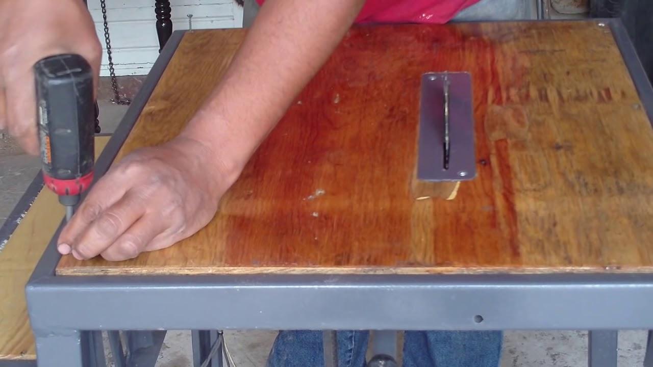 Sierra De Banco Hecha En Casa Homemade How To Build A