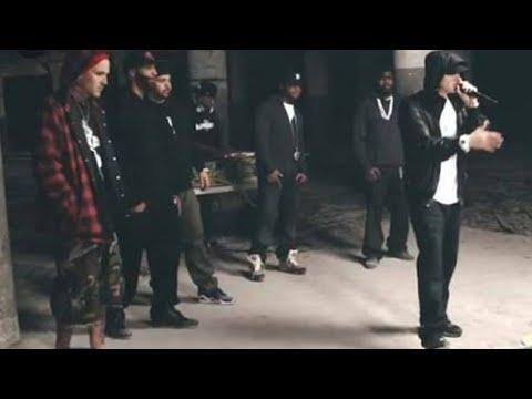Download Eminem Shocks Rapper at BET Cypher