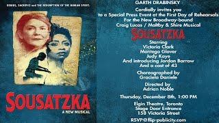 Video Sousatzka - Musical Toronto rehearsal download MP3, 3GP, MP4, WEBM, AVI, FLV Januari 2018