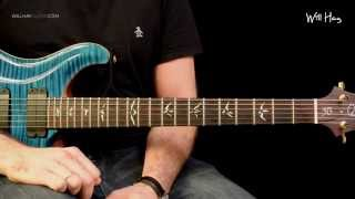 Long road to Ruin - Foo Fighters - solo tutorial HD