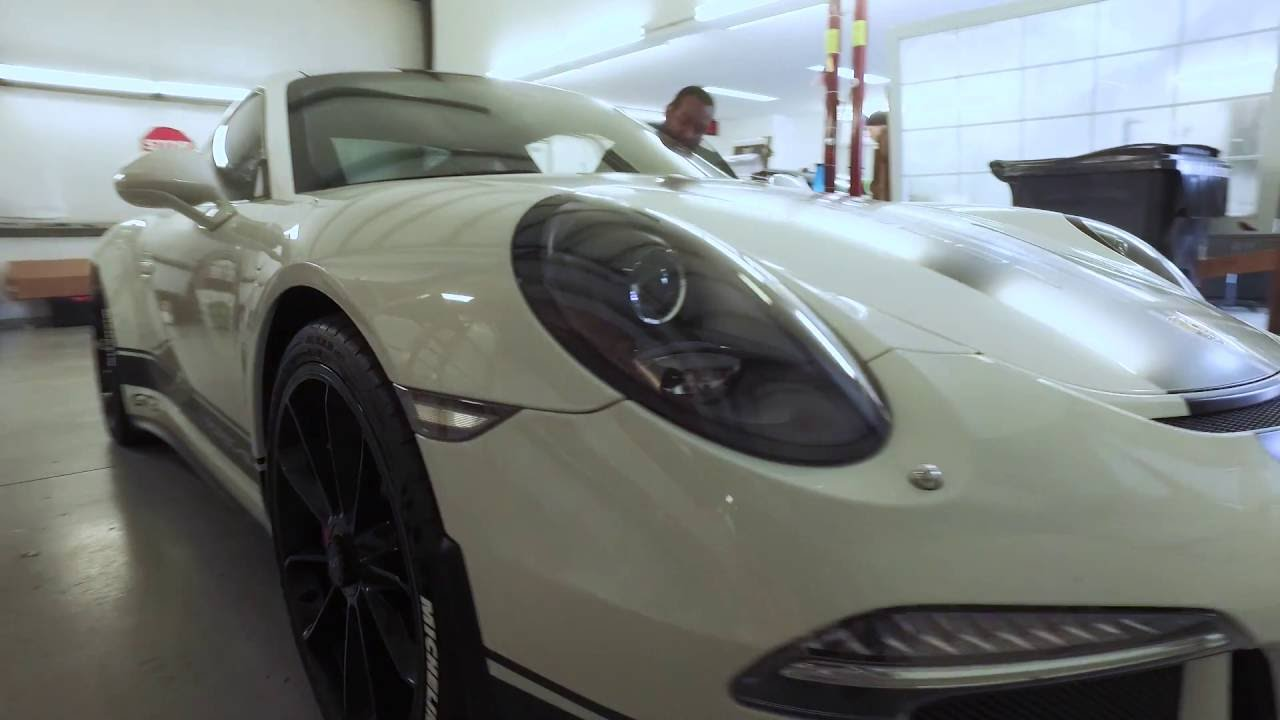 Porsche GT3 Custom Racing Stripes by Absolute Perfection Vehicle Wrapping  and Applied Graphics