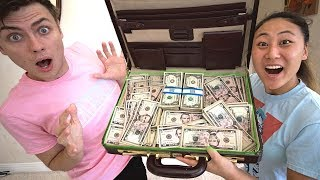 WE FOUND $10,000 IN AN ABANDONED ATTIC!!
