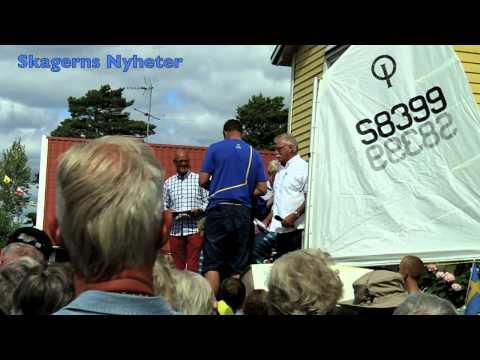 Skagerns Nyheter - Guldmedaljören Fredrik Lööf hyllades i Kristinehamn