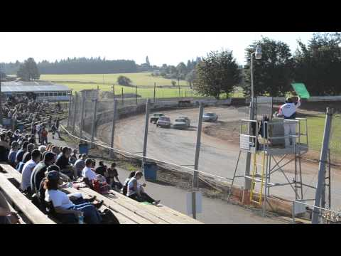 River City Speedway - St.  Helen's Oregon 07/06/2013 4 Cylinder Heat 2