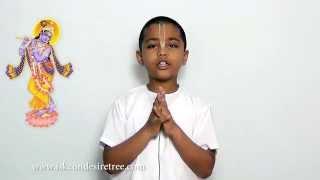 Bhagavad Gita Sloka Recitation 09.25-27 by Gaurhari Kadam