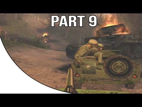 Call of Duty 2 Big Red One - Gameplay Walkthrough Part 9 - An Easy Detail