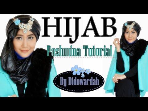 Tutorial Hijab Modern Pashmina | Tutorial Hijab Pesta by Didowardah #60