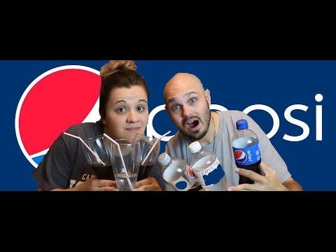 The ULTIMATE Crystal Pepsi Challenge: CRYSTAL PEPSI VS PEPSI VS DIET PEPSI