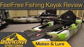 FeelFree Fishing Kayaks-Moken & Lure-In Depth Review(In the year 2000 you would have had better luck spotting a BigFoot than a fishing Kayak. Now, they are not uncommon. Many of the new kayak anglers attribute ..., 2014-10-17T17:46:48.000Z)