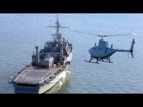 MQ-8B Unmanned Autonomous Helicopter