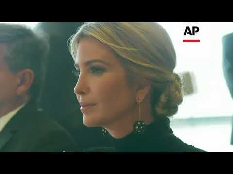 Ivanka Trump hosts world leaders for meeting on modern slavery