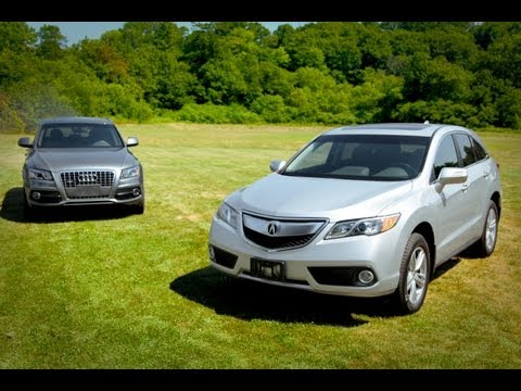 2013 Acura RDX vs. 2012 Audi Q5 - Vehicle Comparison