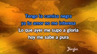 Download Karaoké La camisa negra - Juanes * Mp3 and Videos