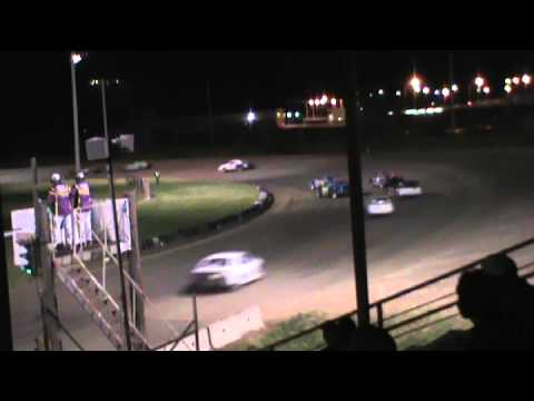 IMCA stock car A Feature 06-14-2015 Dawson county raceway