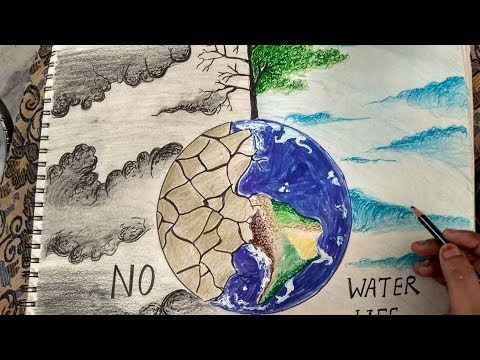How To Draw Save Water Poster Drawing The Most Popular High