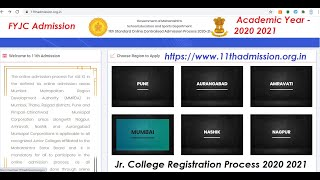 11thadmission Admission Jr. College Registration Process 2020 2021 and FAQ. Meeting 01 07 2020
