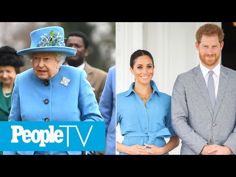 Queen Elizabeth Requests Meghan, Harry & Baby Archie's Return To U.K. For Royal Event | PeopleTV