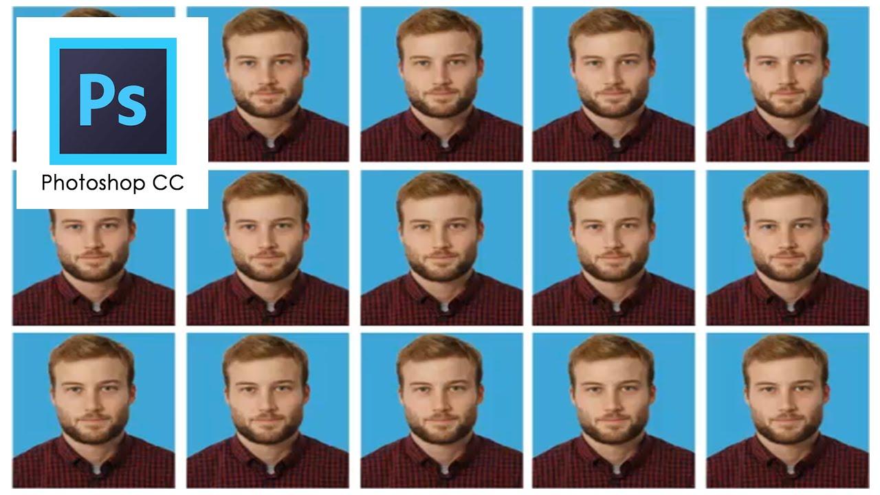 Como Hacer Una Plantilla Para Fotos Tamaño Carnet En Photoshop Cc