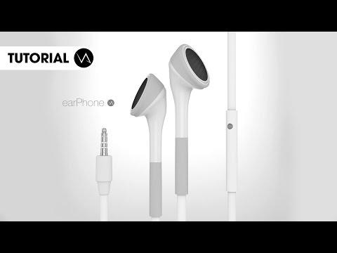 EarPhone VA Cinema 4D Tutorial