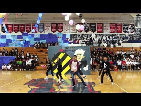 Bolsa Grande High School Junior Lip Sync Night Assembly 2015-2016