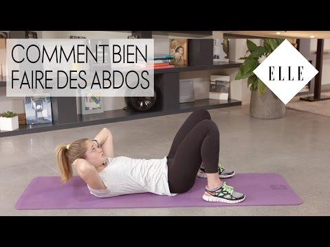 Comment bien faire des abdos I ELLE Fitness