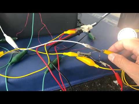 Free Energy Resonant Coil2 Charging Battery