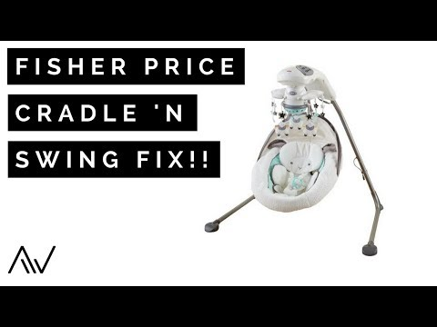 How To Replace The Motor In A Fisher Price Cradle N Swing | Repair