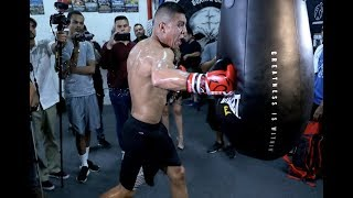 JAMIE MUNGUIA ON BEATING LIAM SMITH BETTER THAN CANELO& BEING ONE OF YOUNGEST CHAMPS