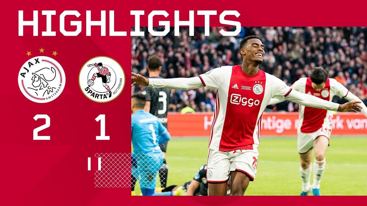 Jong Ajax pakt koppositie tegen Dordrecht - Ajax Showtime