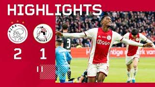 Highlights Ajax - Sparta Rotterdam | Heerlijke goal Gravenberch | Eredivisie