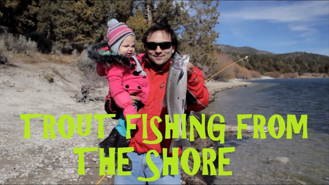 Big Bear Lake California Rainbow Trout Fishing Tips