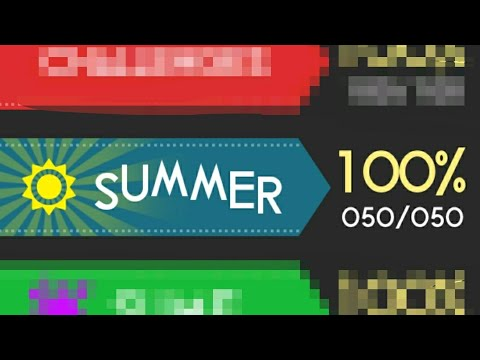 COLOR SWITCH SUMMER MODE!!!☀️🌞🌞{1-50} LEVEL!!!100% COMPLETE!!!