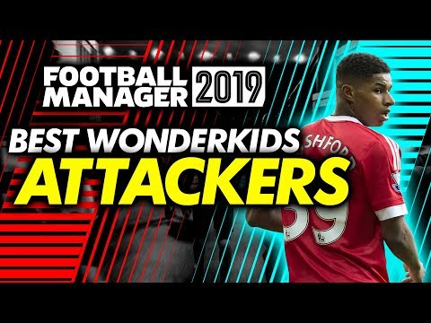 Football Manager 2019 Wonderkids: Attackers Shortlist (FM19)