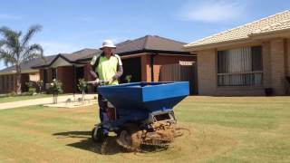 Cylinder Lawn Mowing ( Prepare Lawn ) Part 6/6