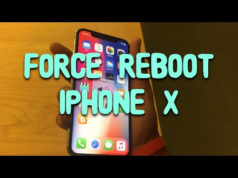 How to Force Turn Off/Reboot iPhone X / XS! (Frozen Screen Fix)
