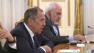 С.Лавров и Н.Назарбаев