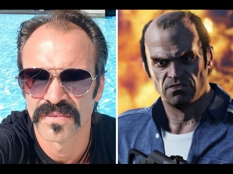 Grand Theft Auto 5  -  Real Life Characters