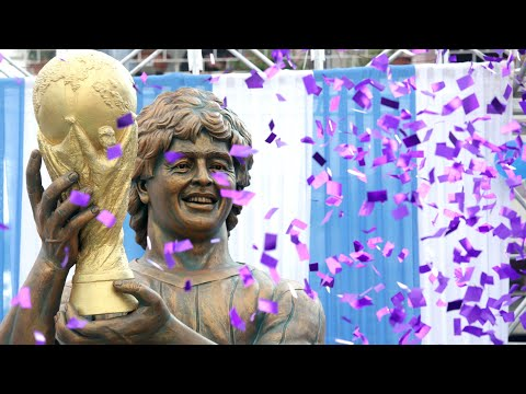 Maradona statue unveiled in India becomes target of online ridicule