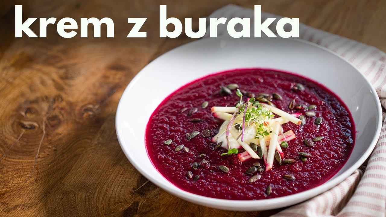 KREM z BURAKA - pyszna jesienna zupa! Domowy przepis [POSMAKUJ POLSKI]