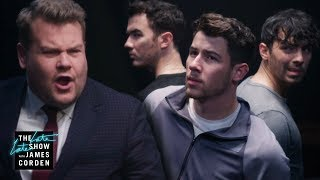 Download James Corden Kidnaps The Jonas Brothers Mp3 and Videos