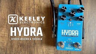 Keeley Electronics Hydra Stereo Reverb & Tremolo