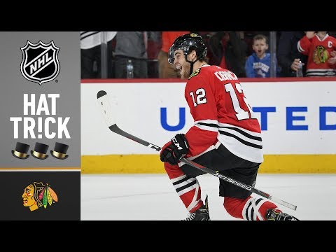 Alex DeBrincat completes his third career hat trick