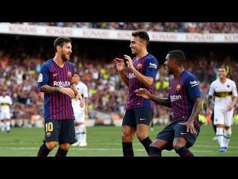 FC Barcelona 3-0 Boca Juniors (Juan Gamper Trophy) All Goals 15-08-2018 (HD)