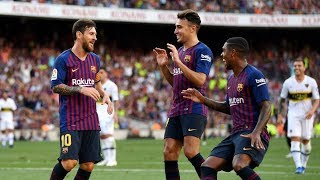 FC Barcelona 3-0 Boca Juniors (Juan Gamper Trophy) All Goals 15-08-2018 (HD)