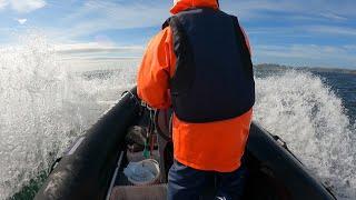 НА РЫБАЛКУ В БАРЕНЦЕВО МОРЕ FISHING IN THE BARENTS SEA