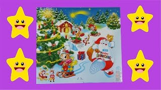 Unboxing 24 Kinder Surprise Eggs Advent Calendar Santa Claus Toys 2009 Edition Thumbnail