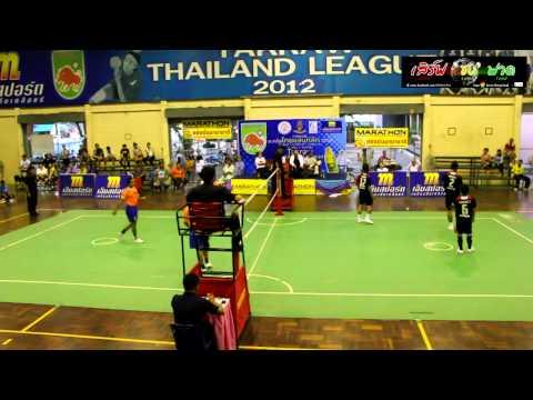 การแข่งขันตะกร้อไทยแลนด์ลีก 2013 นครปฐม VS สุรินทร์