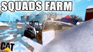 CLEARING SQUADS FARM   FARMING FRIDAY   SNOW REMOVAL   FARMING SIMULATOR 2017