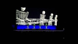 Kraftwerk - Music Non Stop / Techno Pop / Boing Boom Tschak (3D Live Concert)